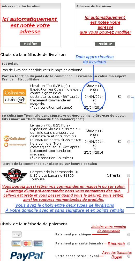 Assistance technique comptoir profils joints caoutchouc tanch it carrosserie - Le comptoir de la carrosserie ...